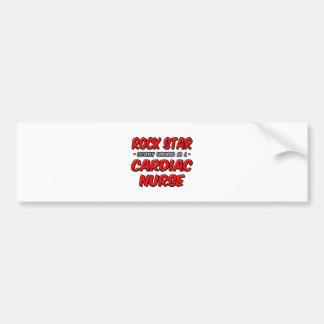 Rock Star .. Cardiac Nurse Bumper Stickers