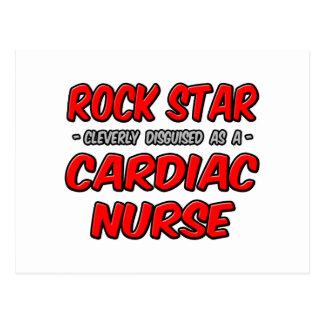 Rock Star .. Cardiac Nurse Postcard