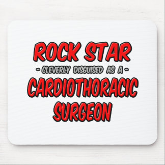Rock Star ... Cardiothoracic Surgeon Mouse Pad
