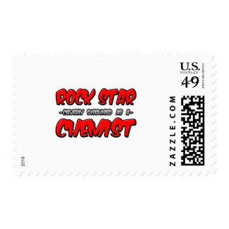 Rock Star...Chemist Postage Stamp