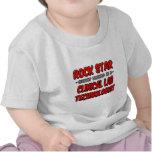 Rock Star .. Clinical Lab Technologist Shirts