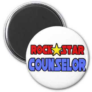 Rock Star Counselor Refrigerator Magnets