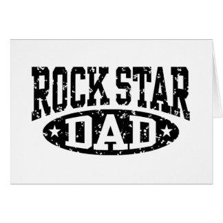 Rock Star Dad Card
