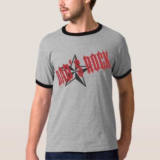 Rock Star Dad ~ Father's Day T-Shirt