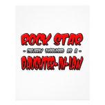 Rock Star...Daughter-In-Law Personalized Letterhead