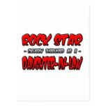 Rock Star...Daughter-In-Law Postcard