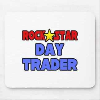 Rock Star Day Trader Mouse Pad