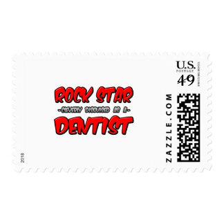 Rock Star...Dentist Stamps