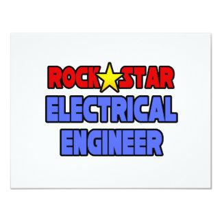 Rock Star Electrical Engineer Custom Invite