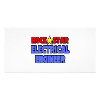 Rock Star Electrical Engineer Photo Greeting Card