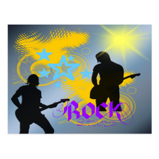 Rock Star Fantasy Postcard