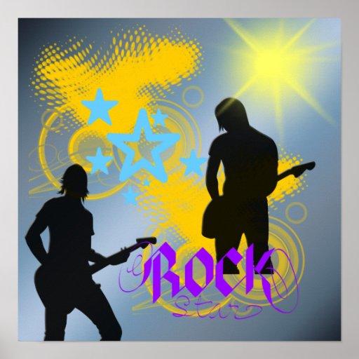 Rock Star Fantasy Poster