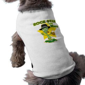 Rock Star From Mars Doggie Shirt