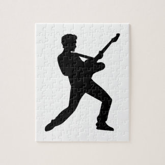 Rock star guitar jigsaw puzzle