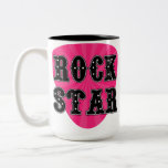 Rock Star Guitar Pick Coffee Mug