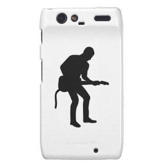 Rock star guitarist droid RAZR case