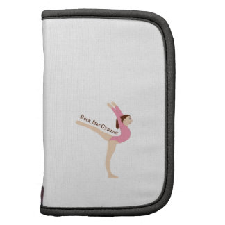 Rock Star Gymnast Folio Planner