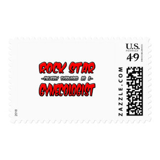 Rock Star...Gynecologist Postage Stamps