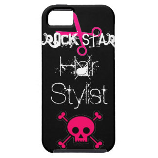 Rock Star Hair Stylist IPhone Case