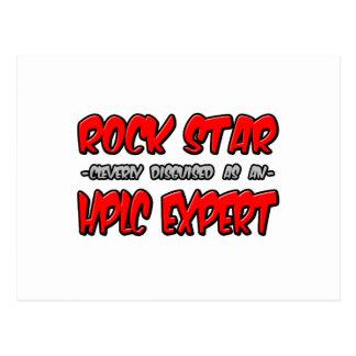 Rock Star...HPLC Expert Post Cards