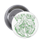 ROCK STAR IN GREEN VINTAGE STYLE PIN