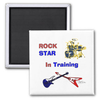 Rock Star In Training Magnets