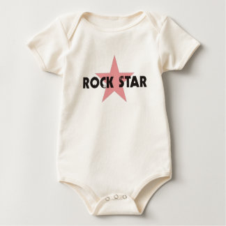 ROCK STAR INFANT ORGANIC BABY BODYSUIT