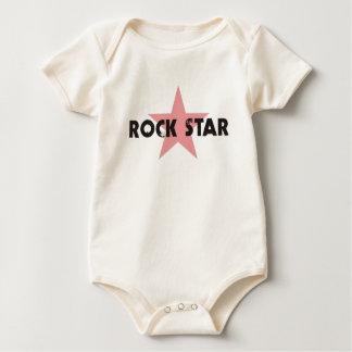 ROCK STAR INFANT ORGANIC BABY BODYSUIT