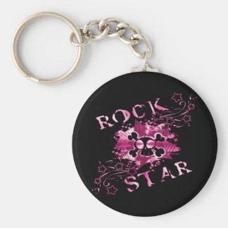 Rock Star - Keychain