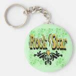 Rock Star Keychain