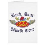 Rock Star Kids Greeting Card