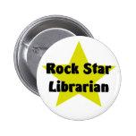 Rock Star Librarian Pinback Buttons