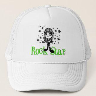 Rock Star Lime Trucker Hat