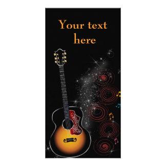 Rock star - map card