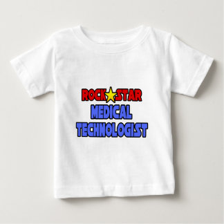 Rock Star Medical Technologist Baby T-Shirt