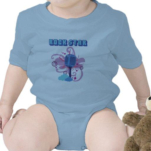 Rock Star Microphone Infant T-Shirt