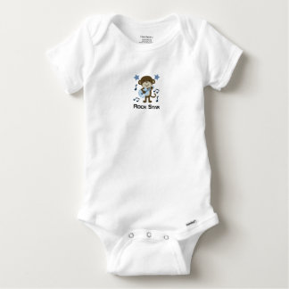 ROCK STAR MONKEY BABY ONESIE