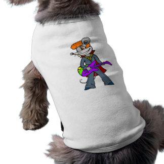 Rock Star Mouse Pet T Shirt