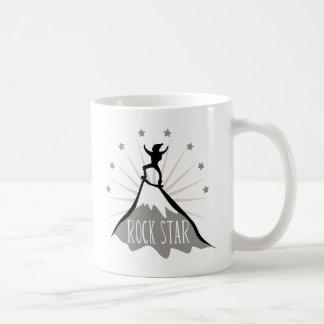 Rock Star Classic White Coffee Mug