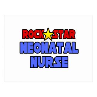 Rock Star Neonatal Nurse Postcard
