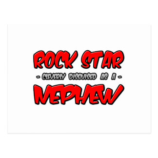 Rock Star...Nephew Postcard