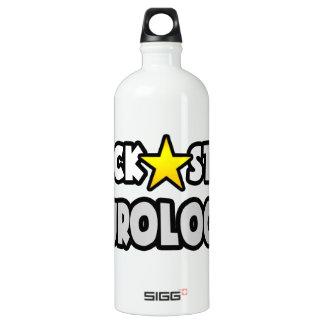 Rock Star Neurologist Aluminum Water Bottle