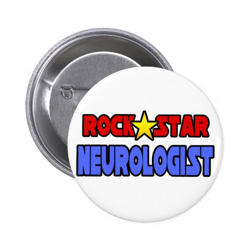 Rock Star Neurologist Button