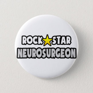 Rock Star Neurosurgeon Button