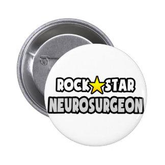 Rock Star Neurosurgeon Button