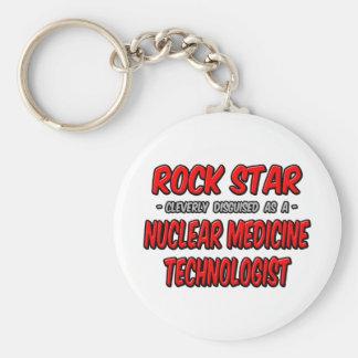 Rock Star .. Nuclear Medicine Technologist Keychain