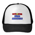 Rock Star Nurse Anesthetist Mesh Hats