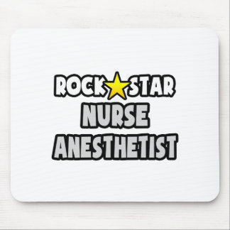 Rock Star Nurse Anesthetist Mouse Pad