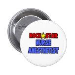 Rock Star Nurse Anesthetist Pin