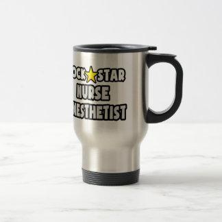 Rock Star Nurse Anesthetist Travel Mug